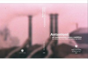 Portada de Antonioni